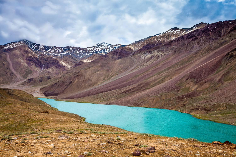 stock-photo-lake-chandra-taal-spiti-valley-himachal-pradesh-india-108238220